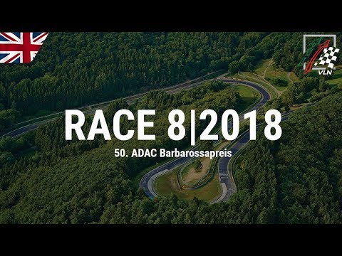 RE-LIVE: 8th VLN race 2018 at the Nürburgring