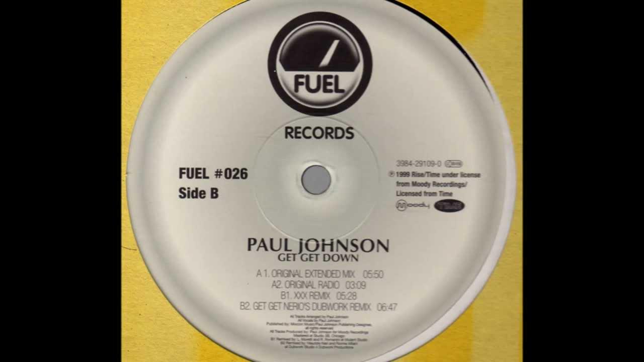 Download Paul Johnson - Get Get Down (Original Extended Mix)