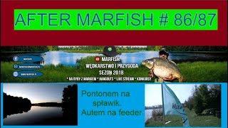 After Marfish # 86 Pontonem na spławik, Autem na feeder. Live chat