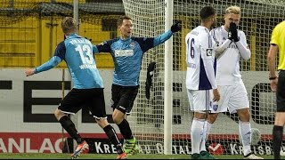 Mohamed El Bouazzati(Vfl Osnabrück) Vs VfR Aalen / 3.Liga /18.11.2016 HD