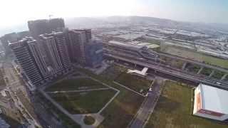 DJI 2+H3-3D+GOPRO3+新莊副都心捷運站空拍01