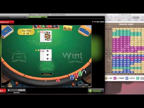 Blackjack basic strategy chart increase your odds also youtube rh