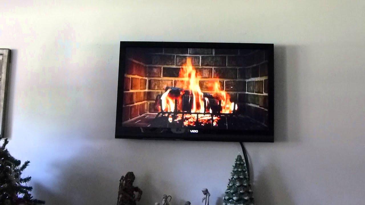 Digital Fireplace :) - YouTube