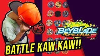 BATTLE BEYBLADE kaw kaw punya di Tournament Beyblade Burst SP MALAYSIA