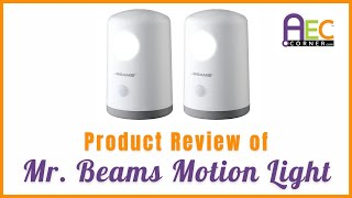 Product Review of Z-Edge and Mr Beams Motion Lights - Motion Light for Safety at Night