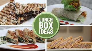 Lunch Box Ideas - Back To School - Easy To Make Lunch Box Recipes