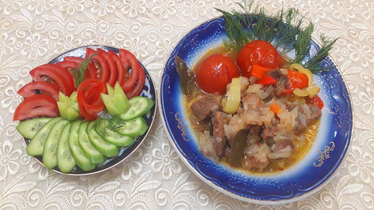 Говядина с помидорами / Beef with tomatoes