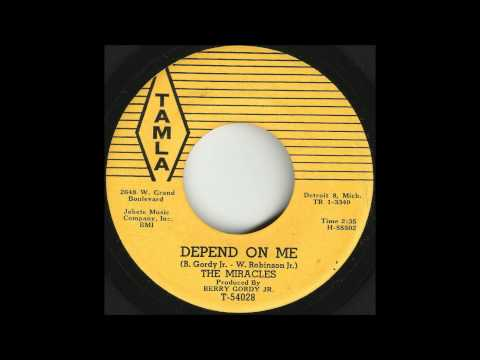 Miracles - Depend On Me - Gorgeous Early Motown Ballad