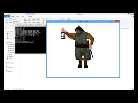 Skeletal Animation en la GPU OpenGL 3.3 y 4.0 Tutorial 7 parte 1