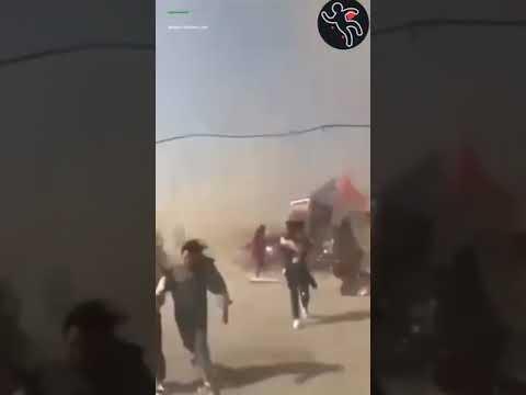 Торнадо унёс батут с детьми Китай