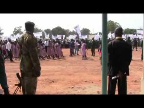 Republic of South Sudan Independence Day - 9th July 2011 - Yei, Central Equatoria