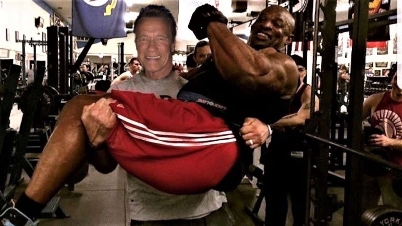 arnold schwarzenegger and ronnie coleman training 2018
