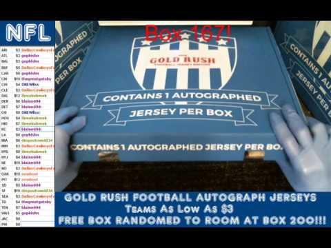 Gold Rush Football Case 17 box 1 Fred Biletnikoff