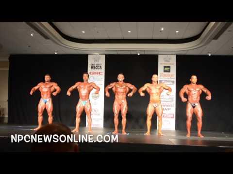 2016 NPC Atlantic States Bodybuilding Prejudging