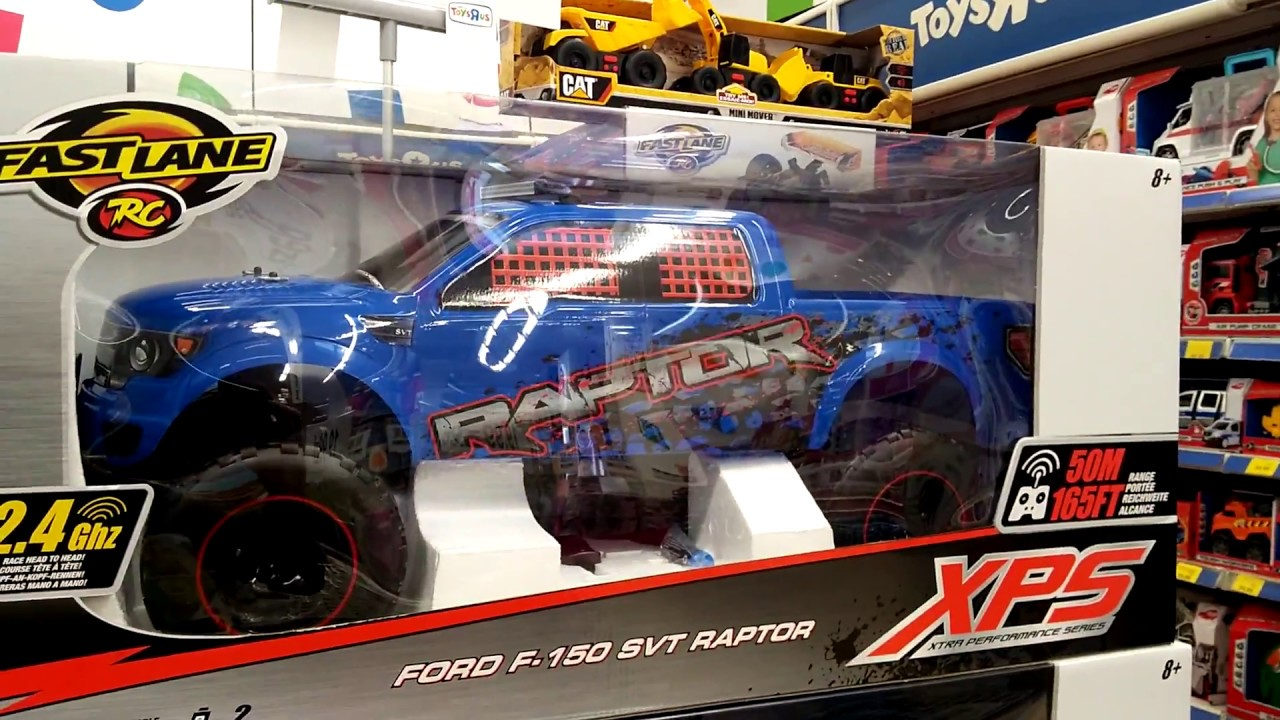 Ford f 150 svt raptor rc 16 toys r us youtube sciox Choice Image