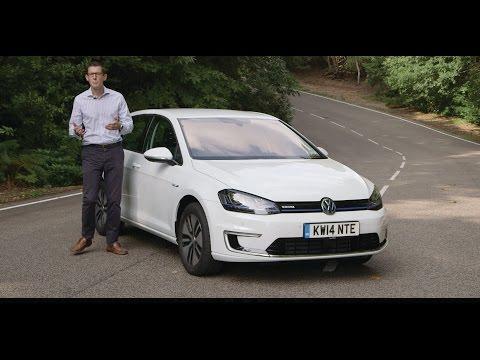 Volkswagen e-Golf 2015 video review - BusinessCar