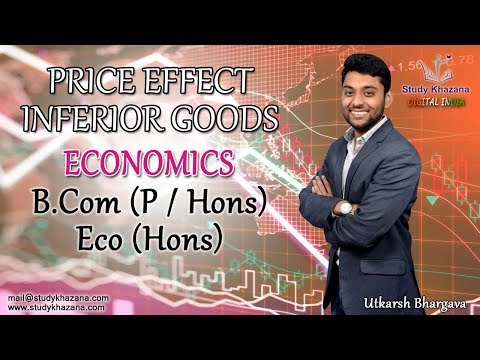 Price Effect- Inferior Good - Economics | B.com (p/Hons.) | Eco (Hons.)