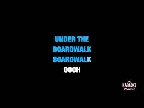 """Under The Boardwalk in the Style of """"Bette Midler"""" karaoke video with lyrics (no lead vocal)"""