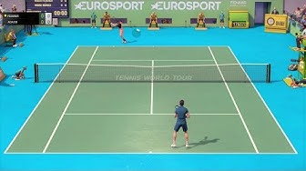 Tennis World Tour - PC Gameplay (1080p60fps)