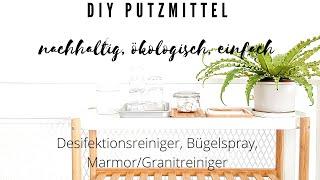 DIY-Reiniger I Putzmittel - natürlich, ökologisch & OHNE CHEMIE I Alenas Momlife