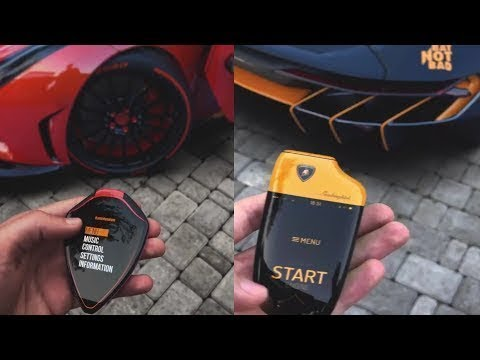 Top 10 Coolest Supercar Touch Keys Concept Keys Of Sports Car Youtube