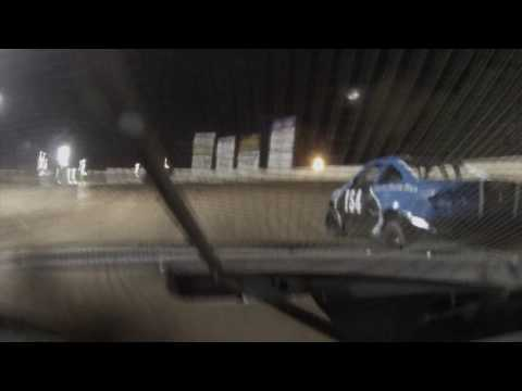 9/16/2016 Ransomville Speedway 4 banger feature from 77 car