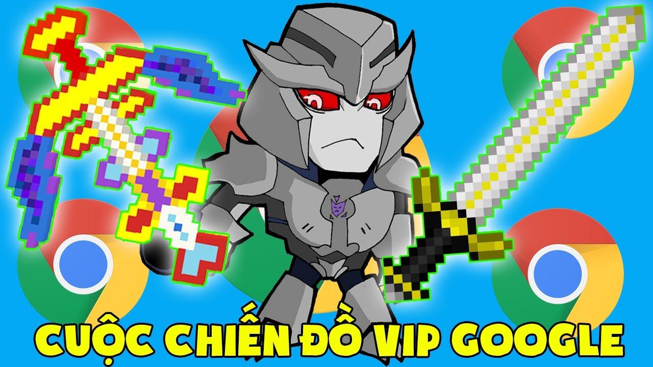MINI GAME : CUỘC CHIẾN ĐỒ VIP GOOGLE ** T GAMING THỬ THÁCH KHÔNG LÀM MÀ CŨNG CÓ ĐỒ VIP MINI WORLD ??