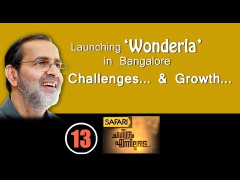 Launch of 'Wonderla' in Bangalore - Challenges faced & How Park Biz Changed me Personally