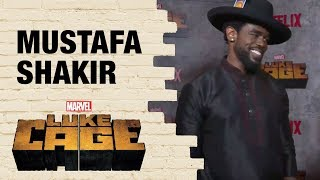 Marvel's Luke Cage New Villain Mustafa Shakir Talks About Becoming Bushmaster