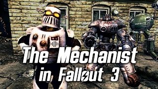 Fallout 3 - Mechanist AntAgonizer in The Superhuman Gambit Quest