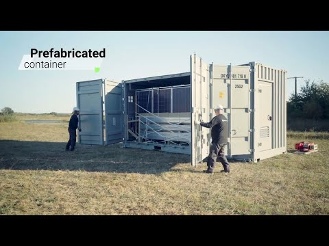 GEM® by Akuo Energy - Mobile Solar Solution