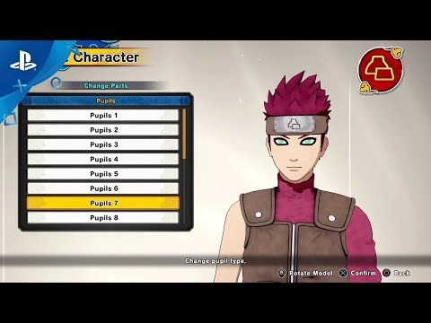 Naruto to Boruto: Shinobi Striker - Avatar Customization Trailer | PS4