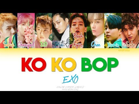 EXO - Ko Ko Bop (Color Coded Han|Rom|Eng Lyrics)