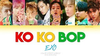 Gambar cover EXO - Ko Ko Bop (Color coded Han|Rom|Eng Lyrics)