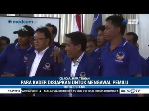 NasDem Lantik Ribuan Pengurus DPRt Di Cilacap