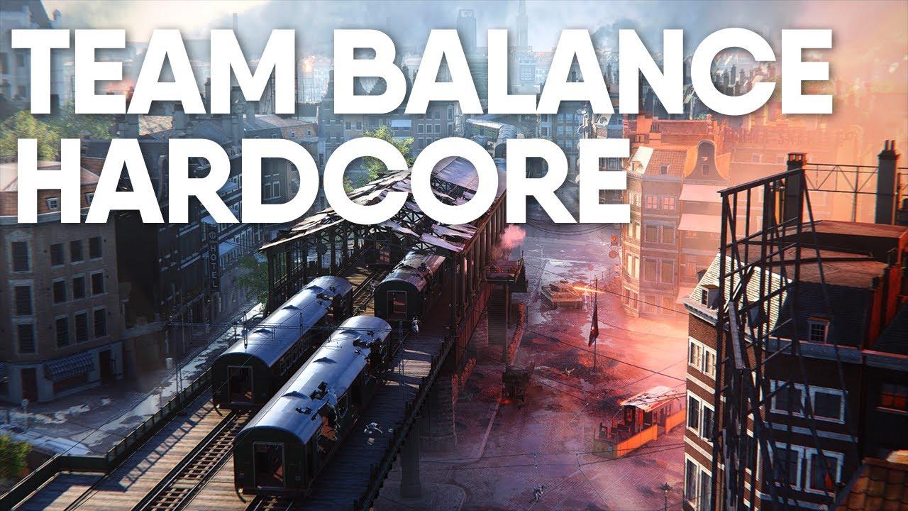 Servidores Hardcore e Autobalance Chegando no Battlefield V!