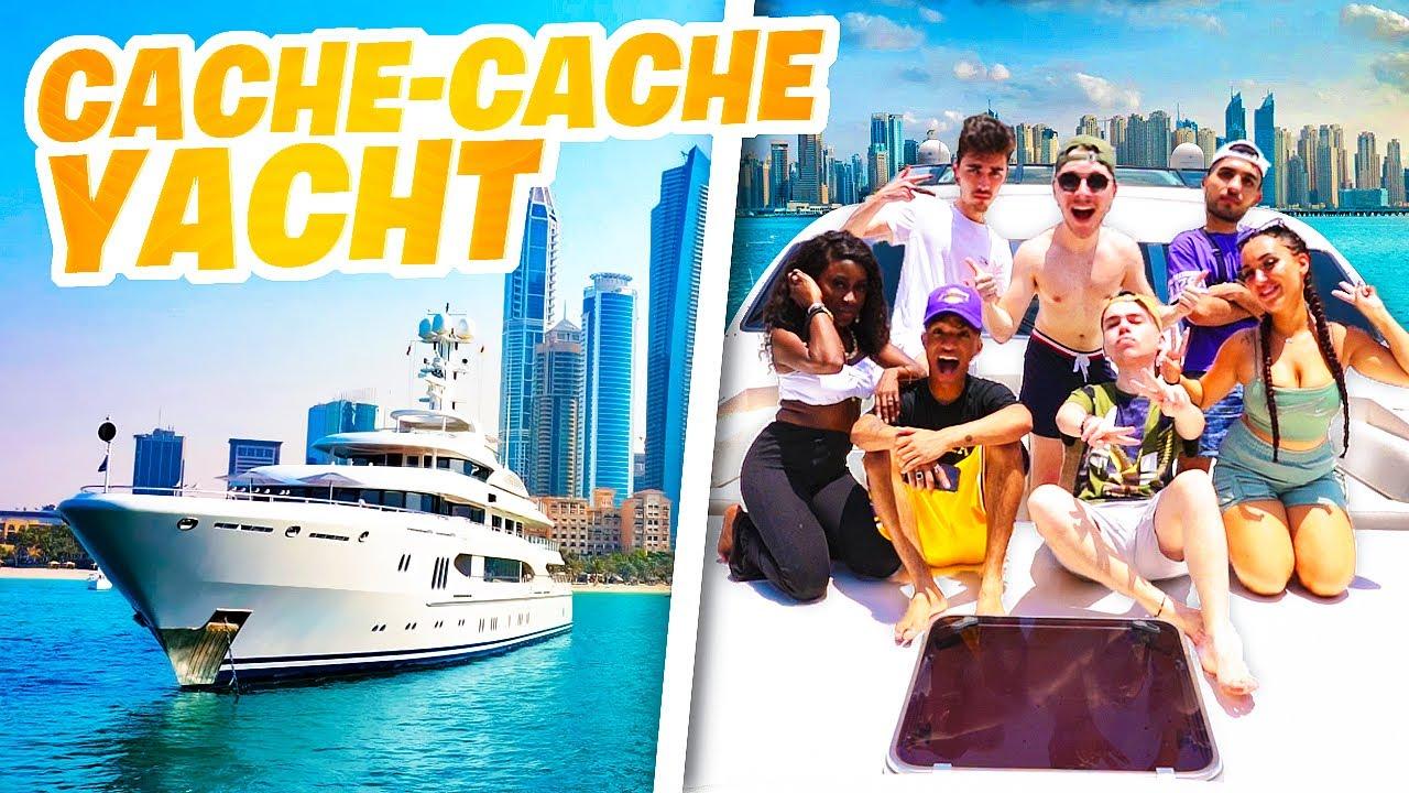 Download CACHE CACHE GÉANT dans un Yacht à 20.000.000 € !