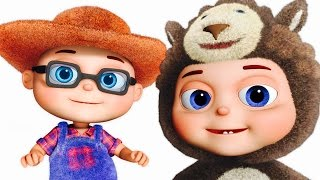 Old Macdonald Had A Farm And More | Fancy Babies Nursery Rhymes | Zool Babies Fun Songs
