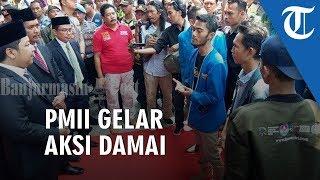 Baru Dilantik, Anggota DPRD Kabupaten Banjar Langsung Disambut Aksi Mahasiswa