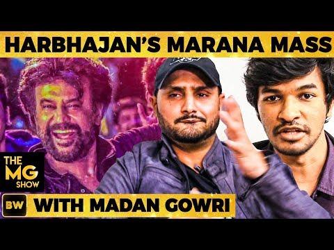 Harbhajan's Petta Marana Mass Dance Performance with Madan Gowri | The MG Show