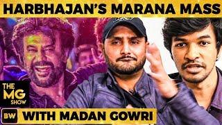 Harbhajan's Petta Marana Mass Dance Performance with Madan Gowri   The MG Show