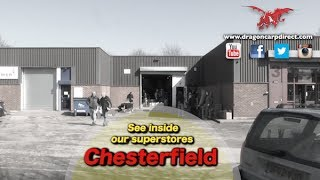 Take a look at Dragon Carp Direct's new Factory Outlet in Chesterfield