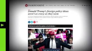 Подборка: западные СМИ и политики резко меняют мнение о Трампе. Русский перевод.