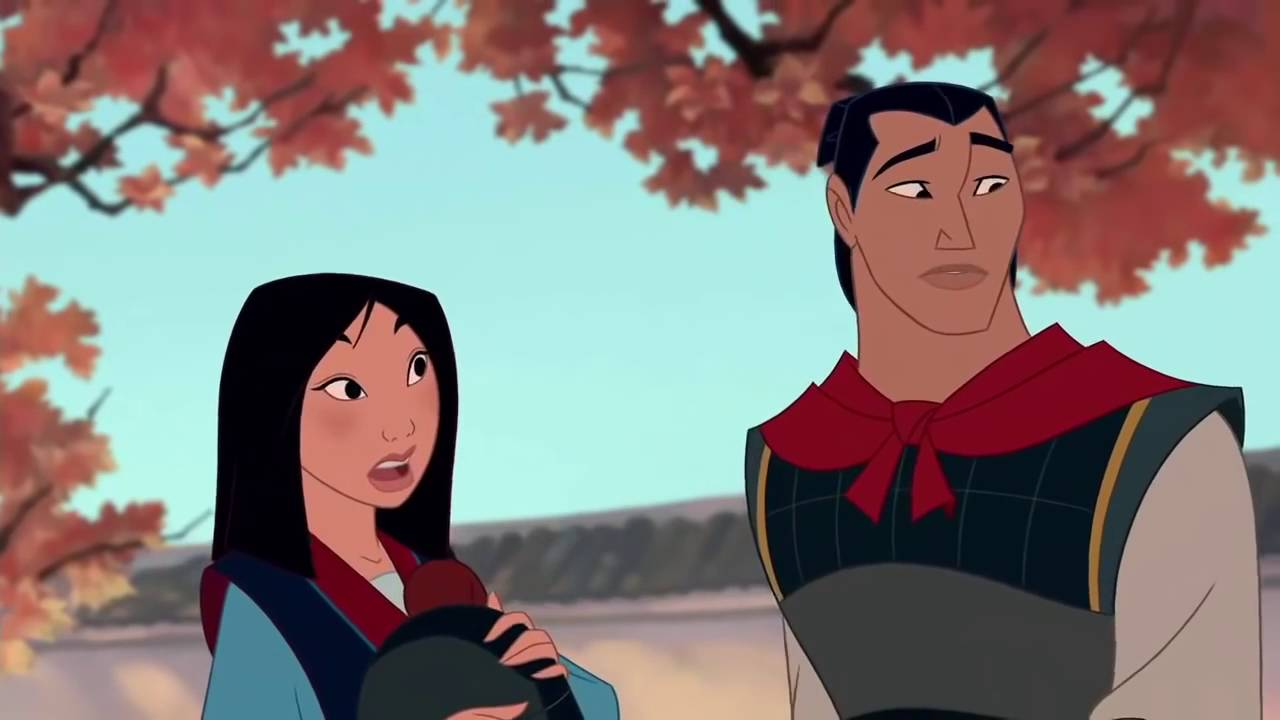 Uncategorized Mulan And Shang fa mulan and capt li shang youtube shang