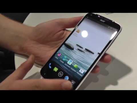 Acer Liquid S2 im Hands On und Kurztest