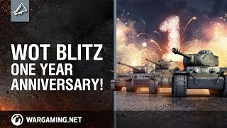 World of Tanks Blitz One Year Anniversary