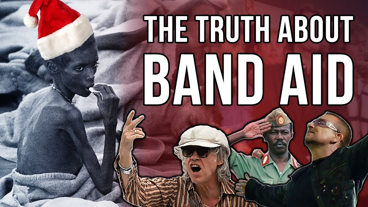 80s History: The Truth About Band Aid/Live Aid Charity and the Ethiopian Famine by Western Intervent