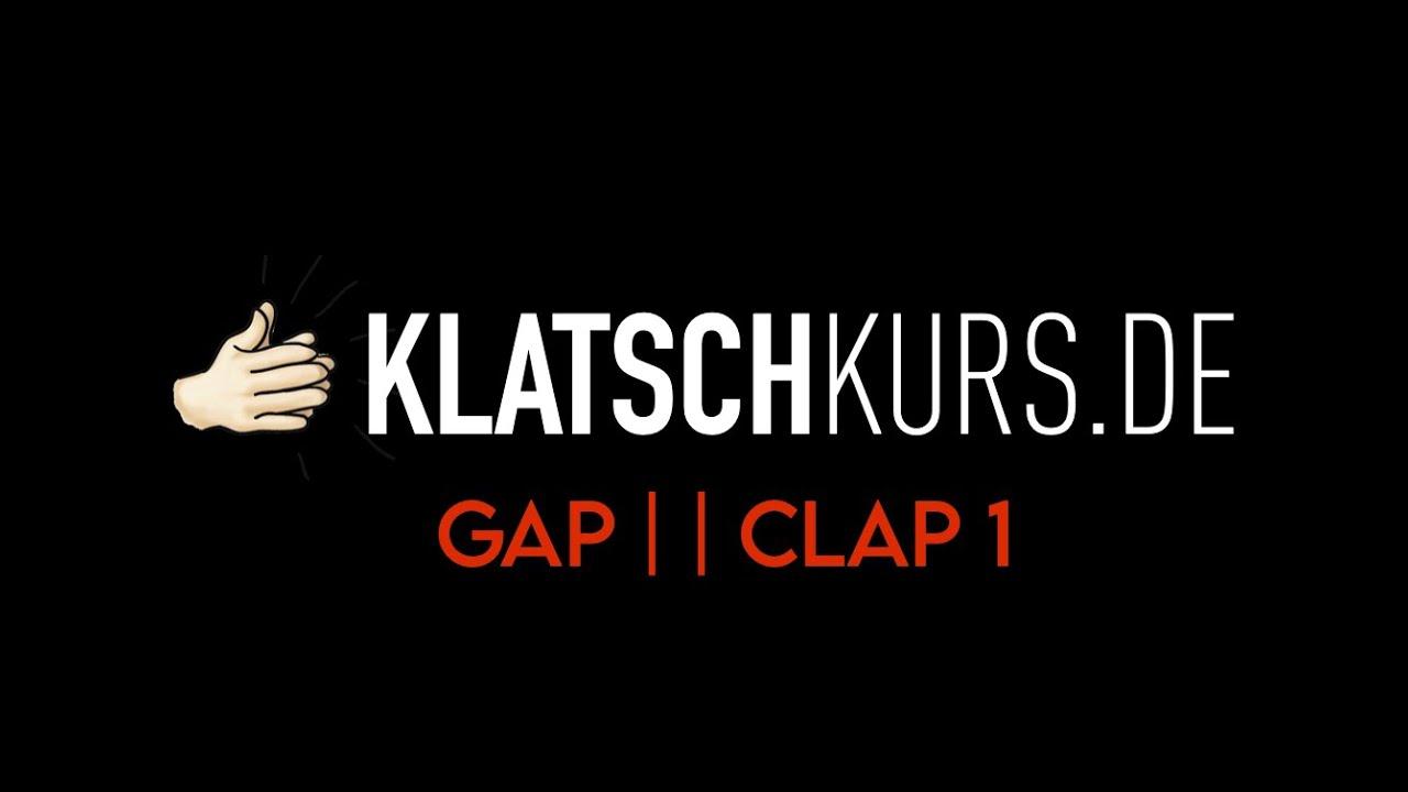 Gap Clap 1, 80bpm - Klatschkurs - Rhythm Reading - by Kristof Hinz