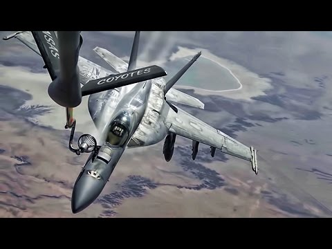 Aerial Refuel • B-1B Bone, AWACS, EA-6B Prowler, F/A-18 Super Hornet