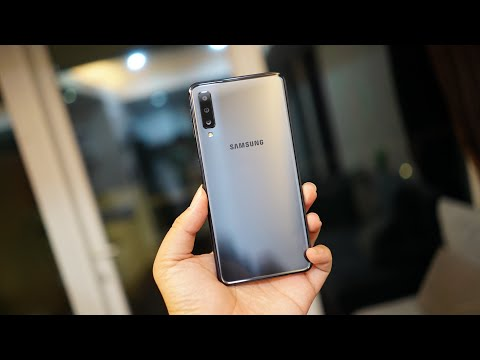 Samsung Galaxy A7 (2018) Black Resmi Indonesia : Review
